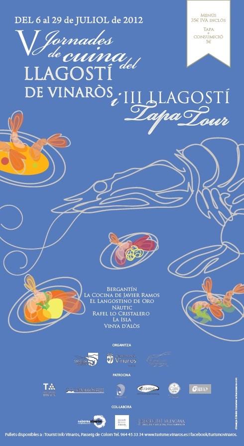 Cartel de las jornadas gastronómicas.
