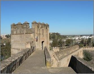 Alcazaba árabe en Badajoz