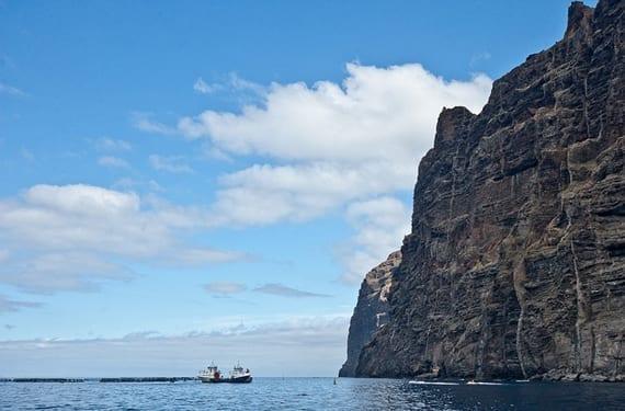 Las Canarias en barco