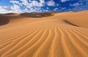 Vista de las dunas de Maspalomas