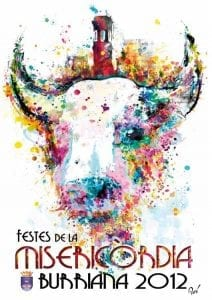 Cartel de las fiestas de la Misericordia 2012