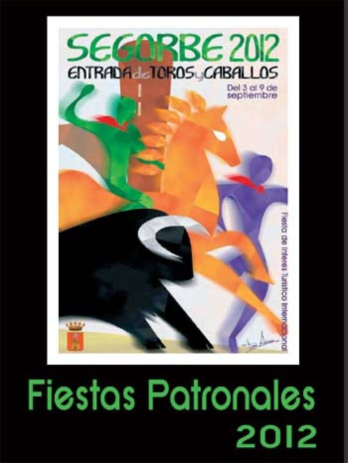 Cartel de las fiestas patronales de Segorbe 2012