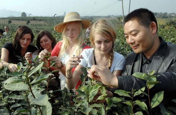 estudiantes extranjeros en China