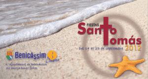 Cartel de las fiestas de Benicàssim