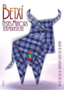 Cartel de las fiestas mayores de Betxí 2012
