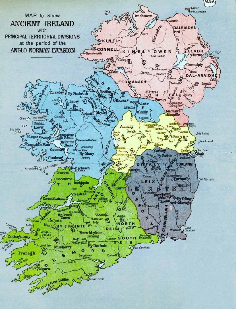 El origen de los apellidos irlandeses