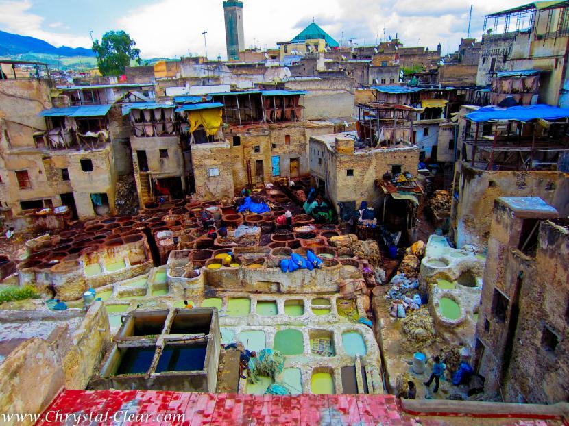 Ciudad de Fes en Marruecos