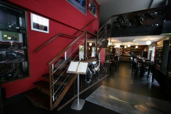 Restaurante cafetería Laguna Seca