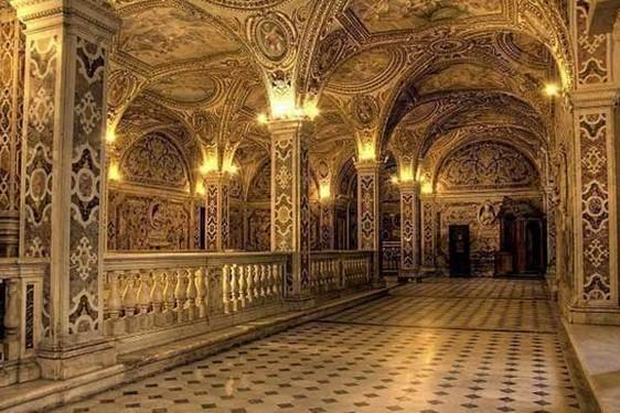 cripta de Catedral de Salerno
