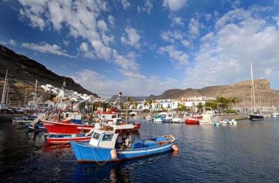Puerto en Gran Canaria