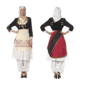 traje típico de Creta 1