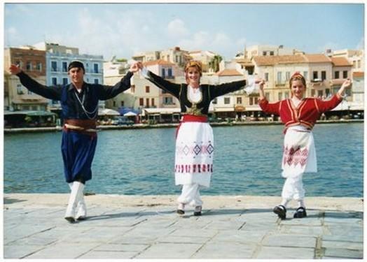 traje típico de Creta