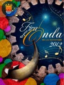 Cartel de la Fira d'Onda 2012