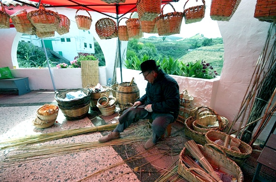 El arte de la cestería