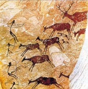 Pinturas rupestres levantinas.