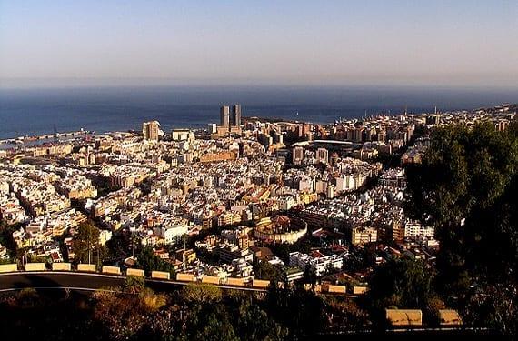 Vista general de Santa Cruz de Tenerife