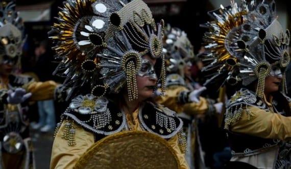 El museo del carnaval presenta el traje de la comparsa Moracantana