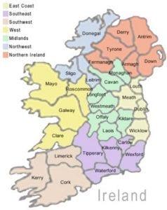 condados de Irlanda