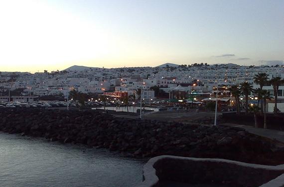 Vista de Puerto del Carmen
