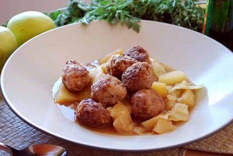 La cocina sueca - Albondigas tradicionales ...