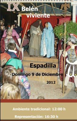 IX Belén viviente de Espadilla.