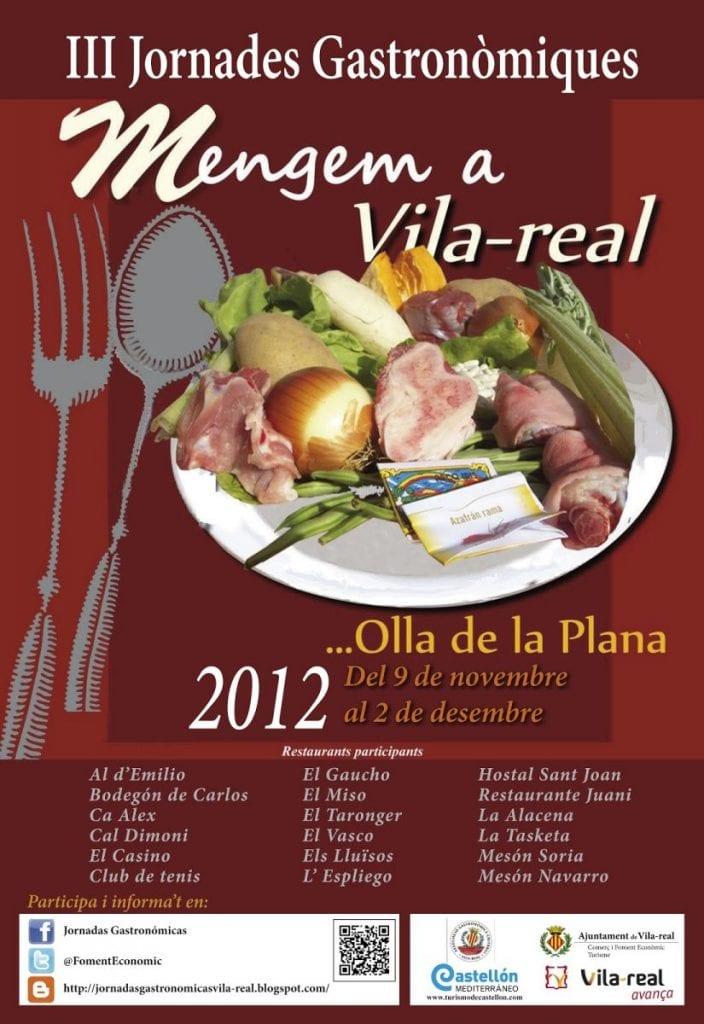 III Jornades Gastronòmiques 'Mengem a Vila-real'