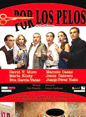 'Por los pelos' en el Teatro Principal de Castellón.