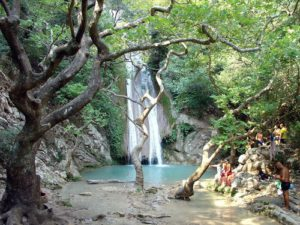 cascada del río Neda