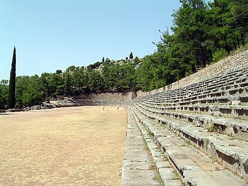 estadio de Delfos