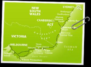 ruta costera Sidney Melbourne