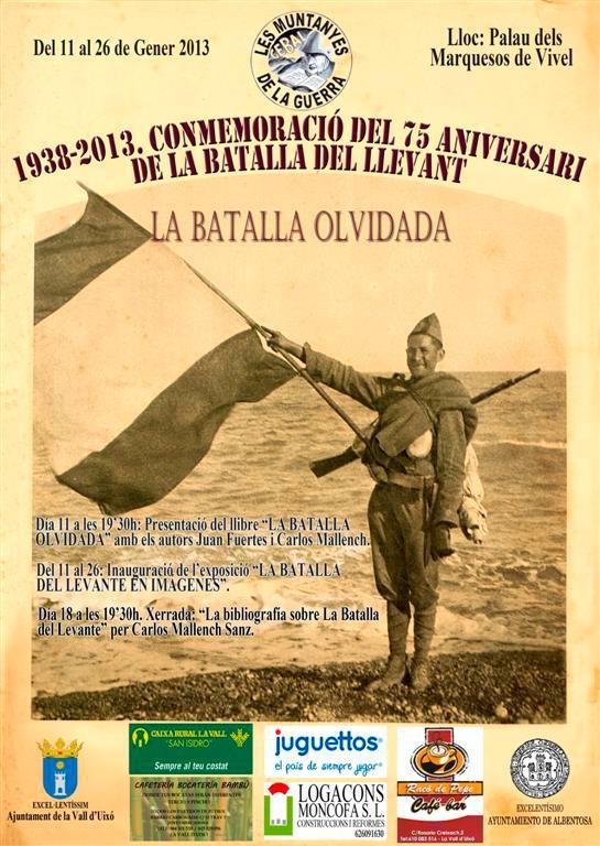 Conmemoración del 75 aniversario de la Batalla de Levante.