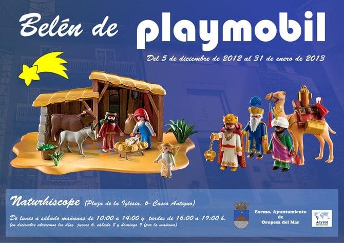 Belén de Playmobil en Oropesa