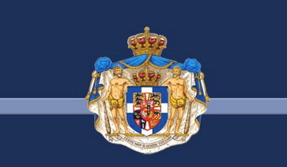 escudo real griego