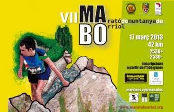 'Marató de muntanya VII edición 2013'.