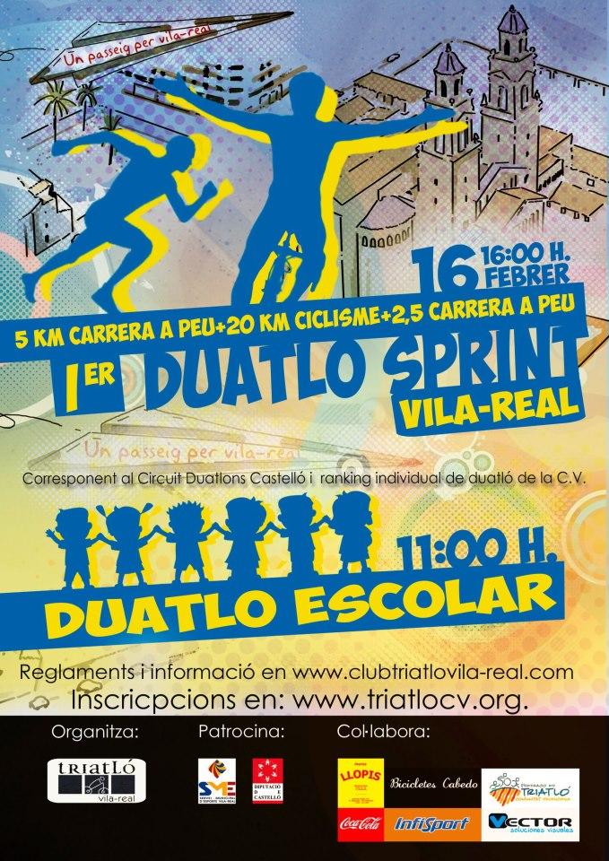 I Duatló Sprint Vila-real