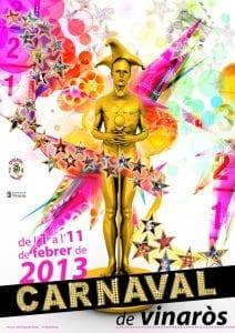 Cartel del Carnaval de Vinaròs 2013