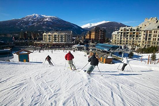 Esqui Canadá