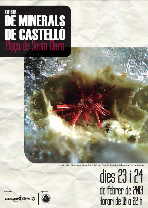 XXVI Fira de Minerals de Castelló