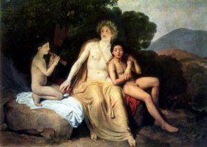 Apolo y sus amantes