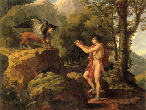 Edipo y la Esfinge