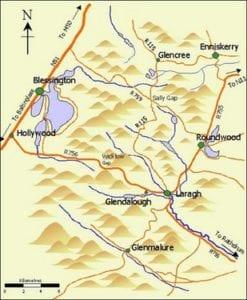 Rutas del Parque Wicklow