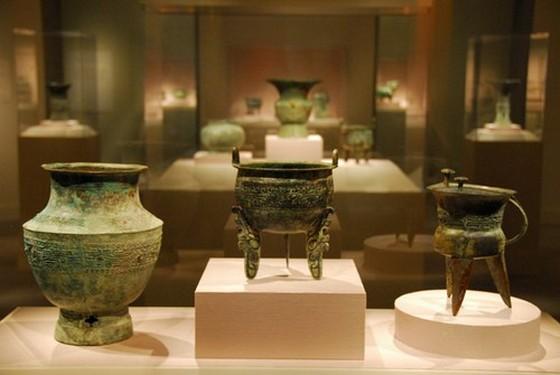 Vasijas chinas de bronce