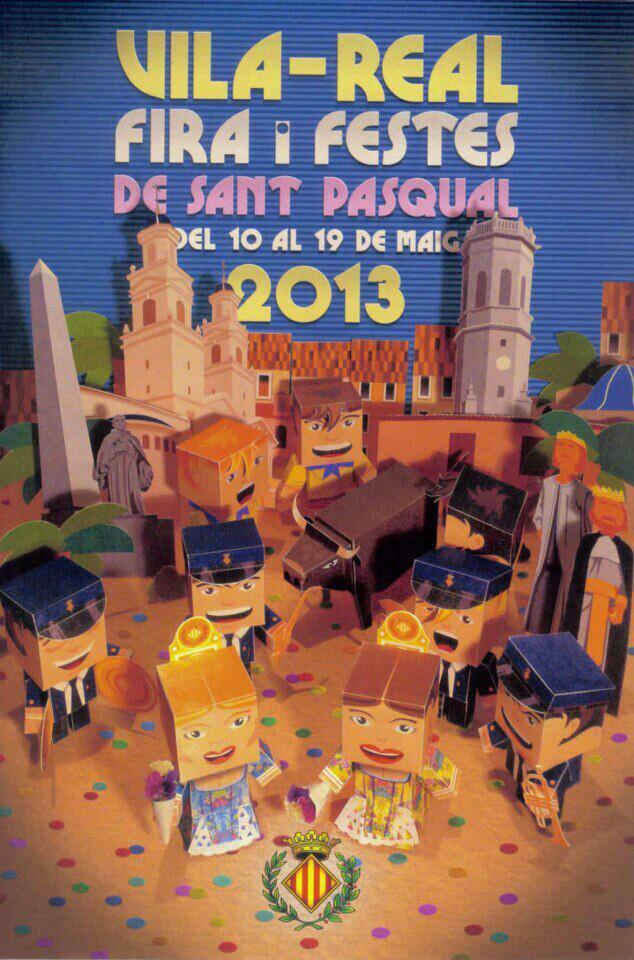 'Fira i festes de Sant Pasqual 2013' de Vila-Real