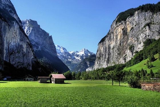 Vacaciones Suiza2 Suiza, país sin litoral pero con encanto