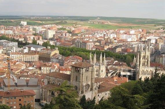 Panorámica de Burgos