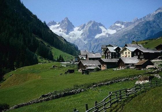 Turismo Suiza5 Rutas escénicas en Suiza