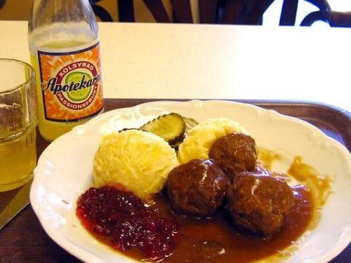 Comida en Suecia