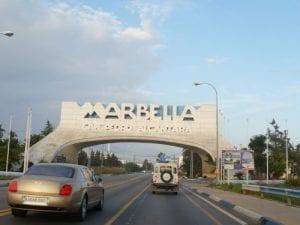 Entrada a Marbella