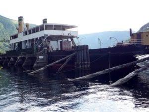 Ferry en Noruega