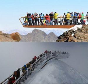 Mirador del glaciar Dachstein